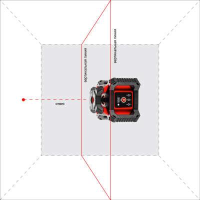Лазерный нивелир ADA ROTARY 400 HV Servo А00458_2020