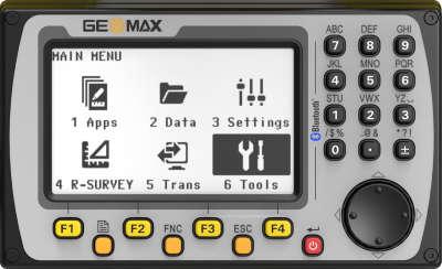 Второй дисплей GeoMax Zoom25 865973