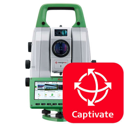 Программное обеспечение Leica Captivate TS/MS Survey and Stakeout (827646)