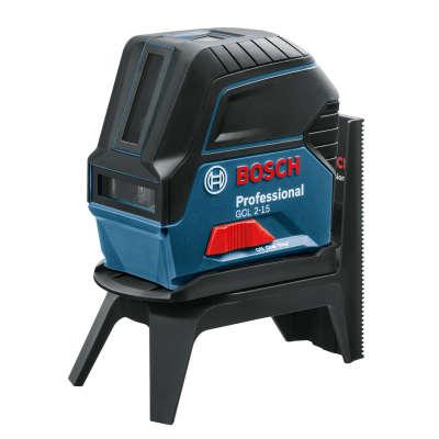 Лазерный уровень Bosch GCL 2-15 (RM1, BM3 clip, кейс) 0601066E02