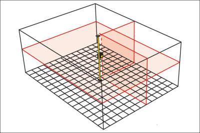 Лазерный уровень STABILA LAX400 (18702)