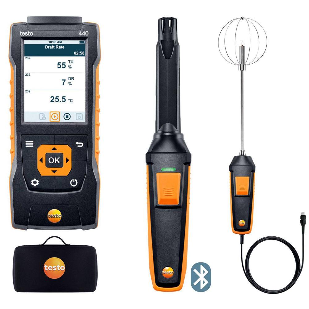Комплект уровня комфорта с Bluetooth Testo 440 0563 4408