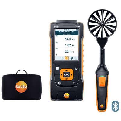 Комплект с крыльчаткой 100 мм с Bluetooth Testo 440 0563 4403