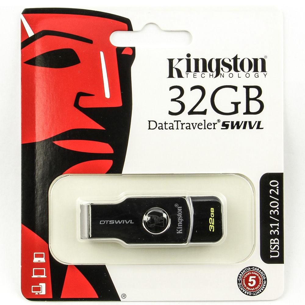 Карта памяти Kingston 32GB DT Swivl