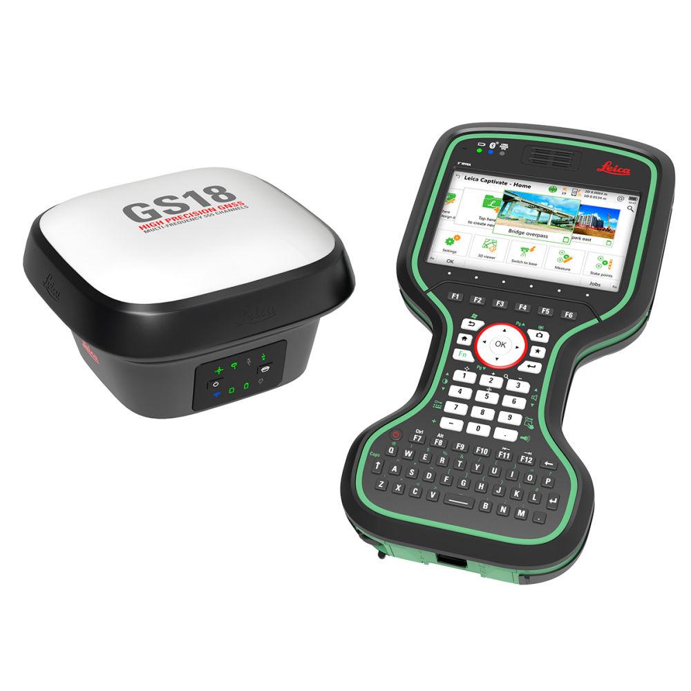 Комплект ровера Leica GS18 GSM, Rover CS20 Disto 6014797