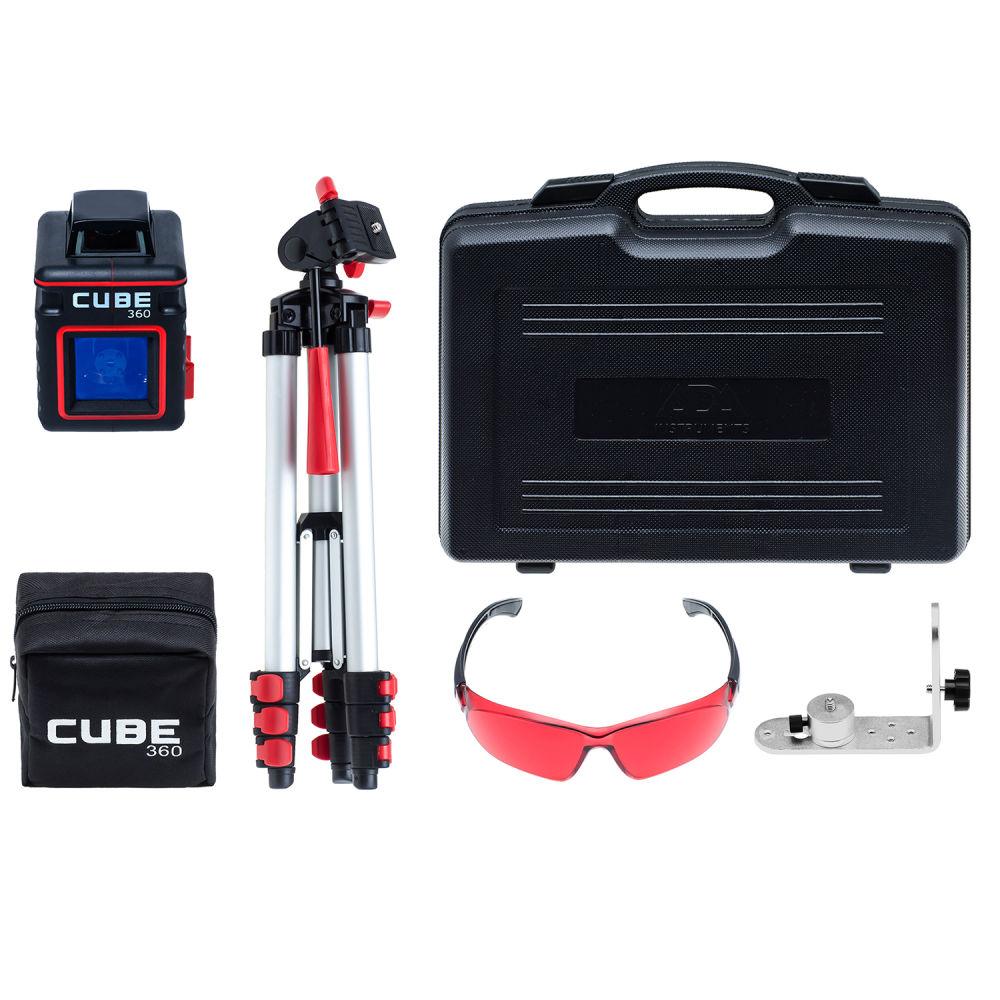 Лазерный уровень  ADA Cube 360 Ultimate Edition А00446