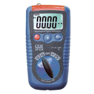 Мультиметр CEM DT-118 481 370