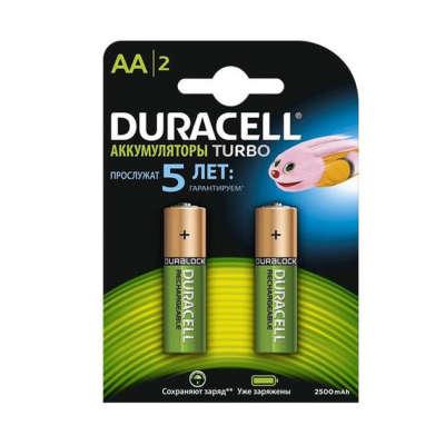 Аккумулятор Duracell Turbo HR6 2400mAh 5000394057128