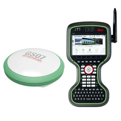 Комплект RTK-ровера Leica GS07, CS20 GSM + Radio, 1 год Smartnet