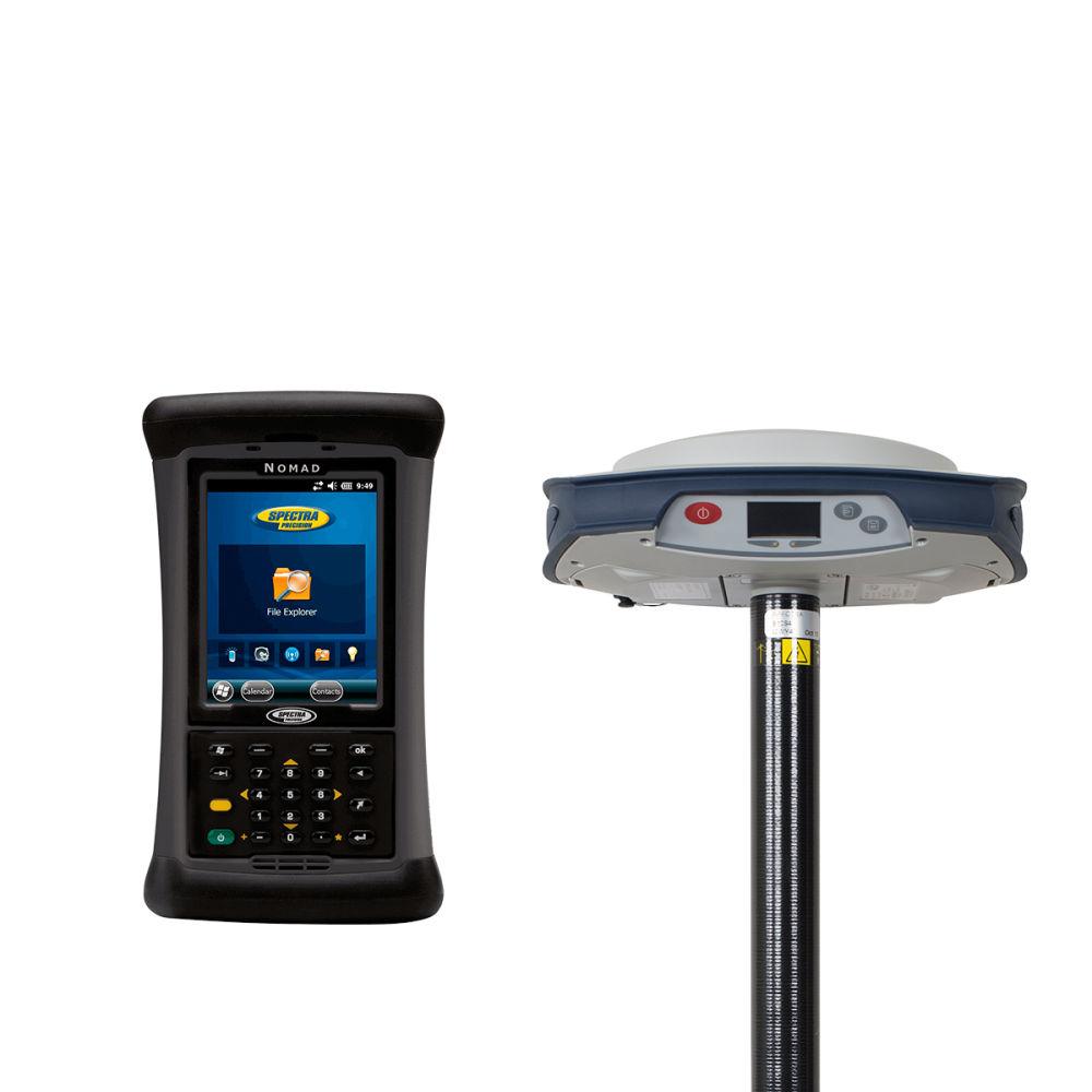 RTK-ровер Spectra SP80 UHF, Rover Nomad 1050B + SPSO