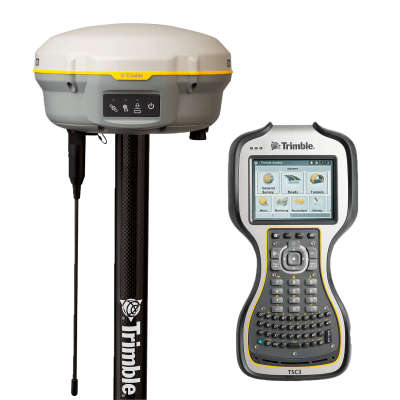 Комплект RTK ровер Trimble R8s UHF + Base and Rover mode + TSC3 (GSM)