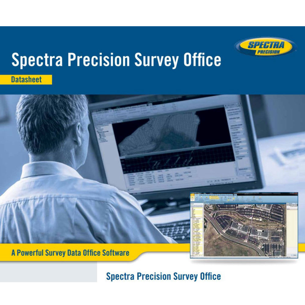 Программа Spectra Precision Survey Office Base 63700-30