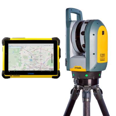 Комплект 3D-сканера Trimble X7 + T10 + TRW Advanced + штатив с тележкой