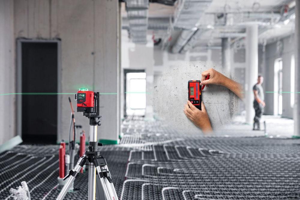 Лазерный нивелир Leica LINO L6G с приемником