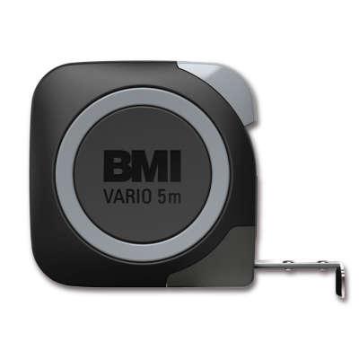 Рулетка BMI VARIO 5m Stainless с поверкой (411543120/п)