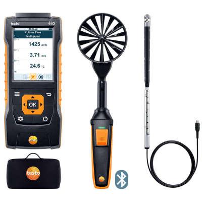 Комплект для вентиляции 2 с Bluetooth Testo 440 0563 4407