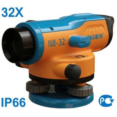 Оптический нивелир GEOBOX N8-32 TRIO с поверкой 100145