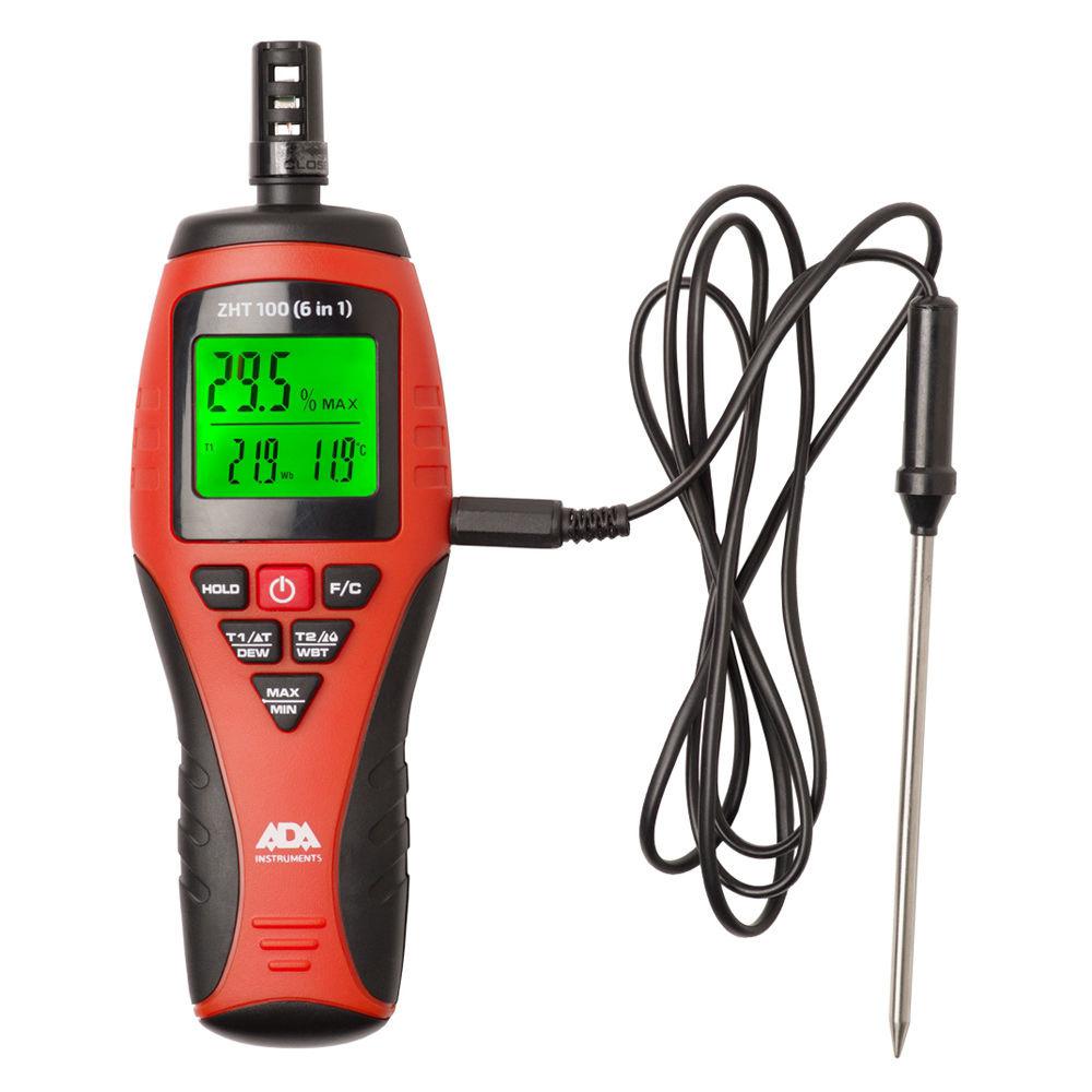 Термогигрометр ADA ZHT 100 (6 in 1) А00400