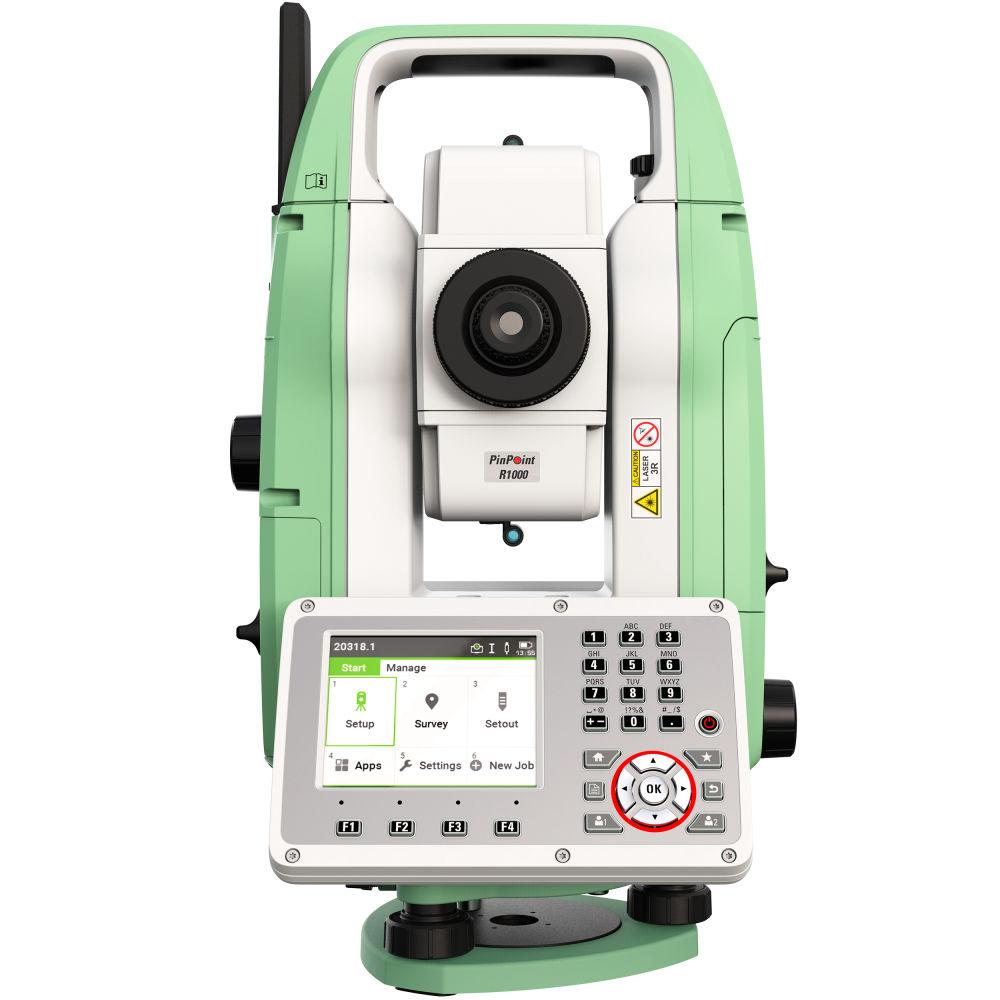 "Тахеометр Leica TS07 R1000 (3"", EGL) AutoHeight 890027"