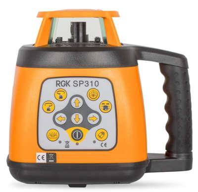 Ротационный лазерный нивелир RGK SP 310 4610011870446