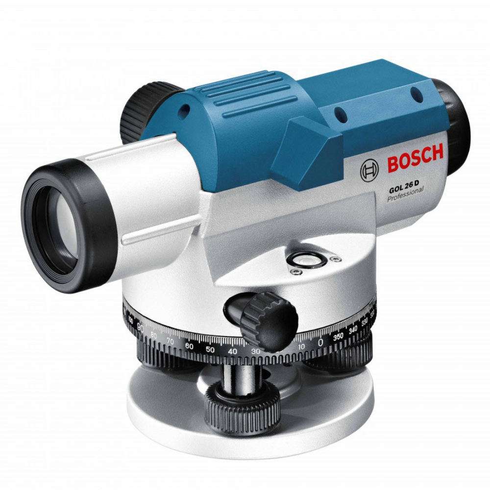 Оптический нивелир Bosch GOL 26D + поверка 0.615.994.09Y