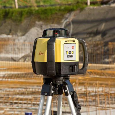 Ротационный нивелир Leica Rugby 640 RE160 6015675