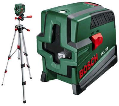 Лазерный уровень Bosch PCL 20 SET 0.603.008.221