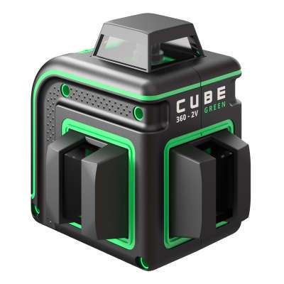 Лазерный уровень ADA Cube 360-2V Green Professional Edition (А00571)