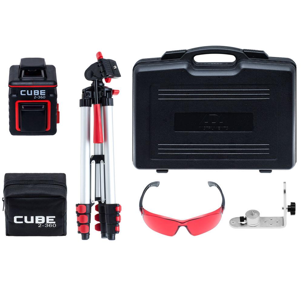 Лазерный уровень ADA Cube 2-360 Ultimate Edition А00450