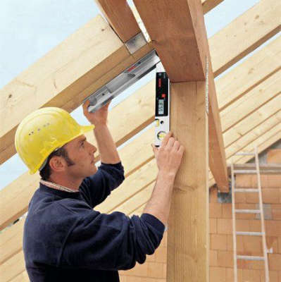 Электронный угломер Bosch DWM 40L set 0601096663