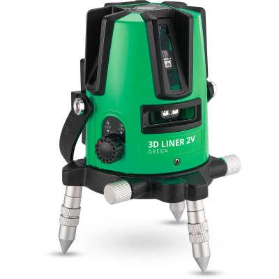 Лазерный уровень ADA 3D Liner 2V Green (А00532)