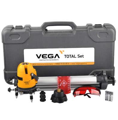 Лазерный уровень Vega Total Set