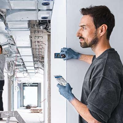 Лазерный дальномер Bosch GLM 50C Professional 0601072C00