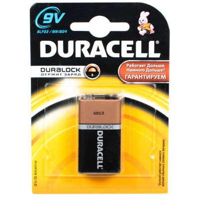 Батарейка Duracell Duralock 9V