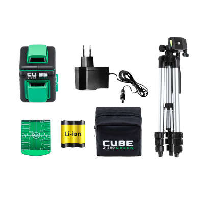 Лазерный уровень ADA Cube 2-360 Green Professional Edition А00534