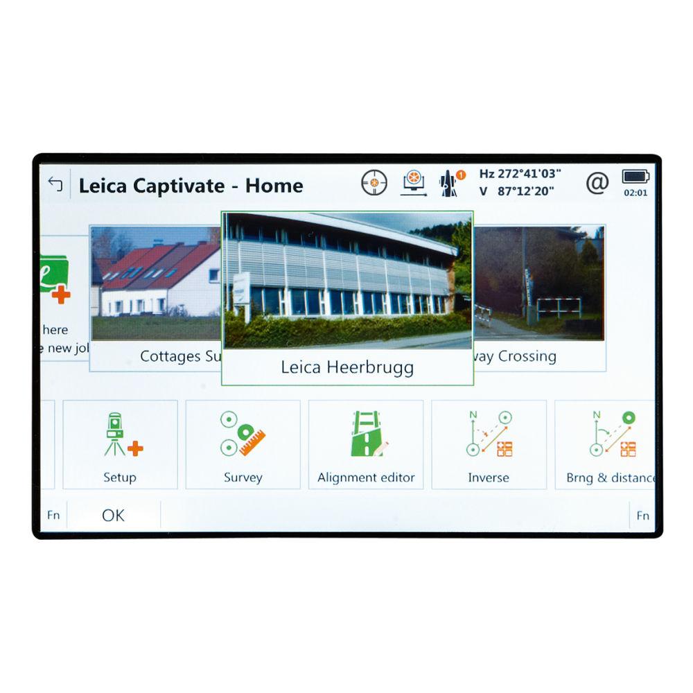 Программное обеспечение Leica Captivate TS/MS Survey & Stakeout 827646
