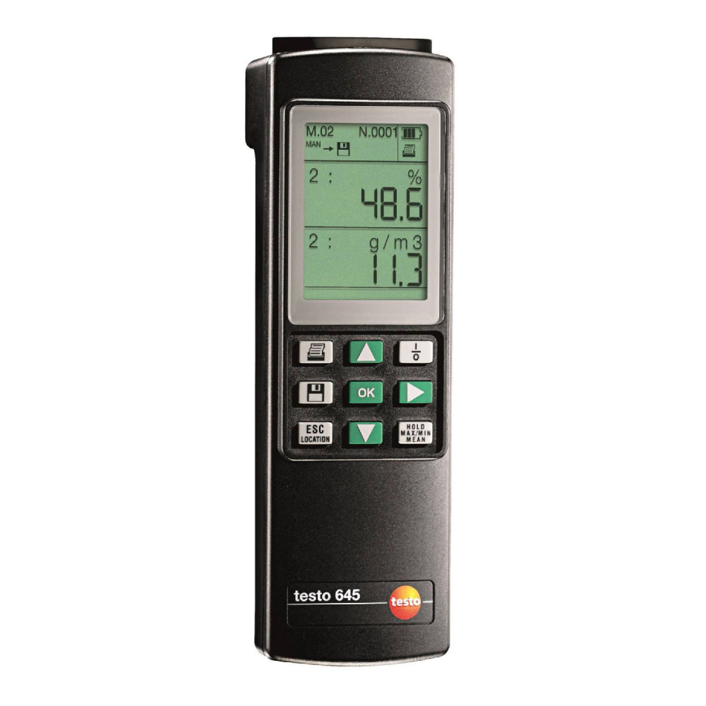 Термогигрометр Testo 645 с поверкой 0560 6450П