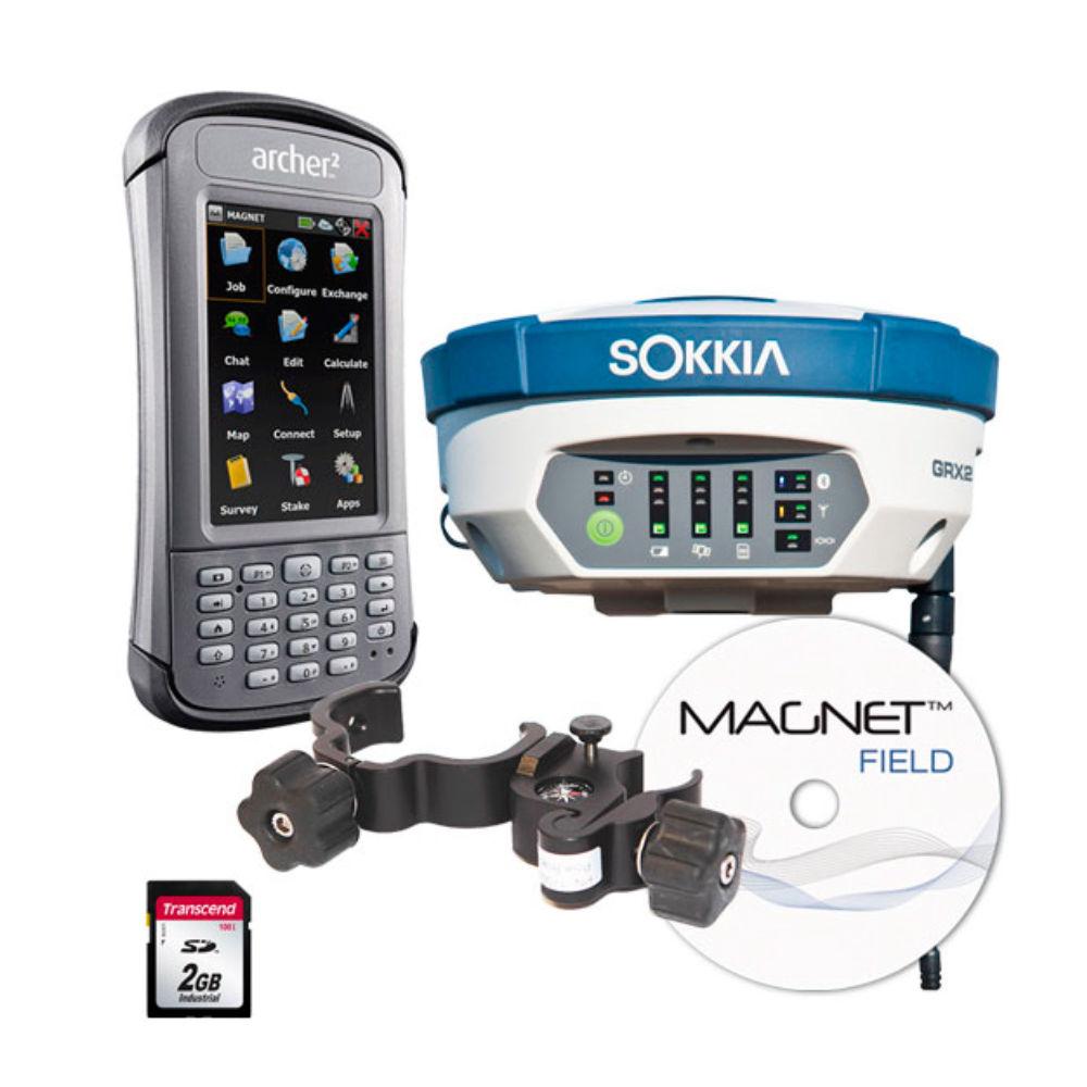 Комплект GNSS-приемника Sokkia GRX2 + ARCHER2 MAGNET FIELD GPS+ 161Ч102129