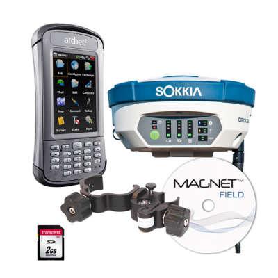 Комплект GNSS-приемника Sokkia GRX2 + ARCHER2 MAGNET FIELD GPS+