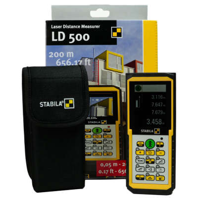 Лазерный дальномер STABILA LD500 17416