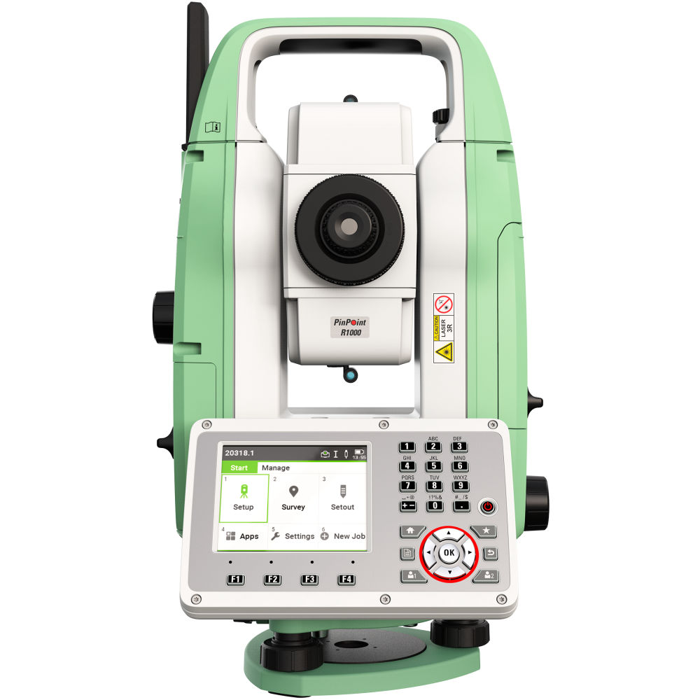 "Тахеометр Leica TS07 R1000 (1"", EGL) AutoHeight 890025"