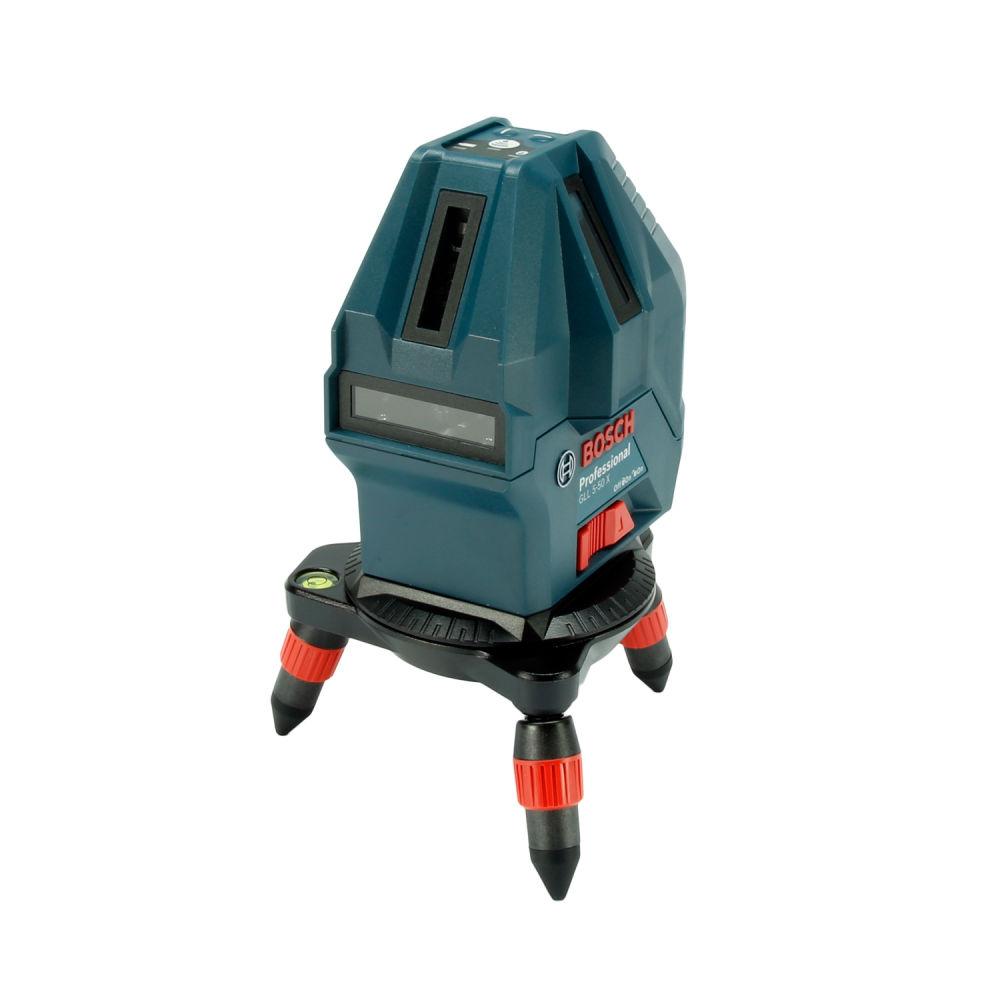 Лазерный уровень Bosch GLL 5-50X + мини штатив 0601063N00