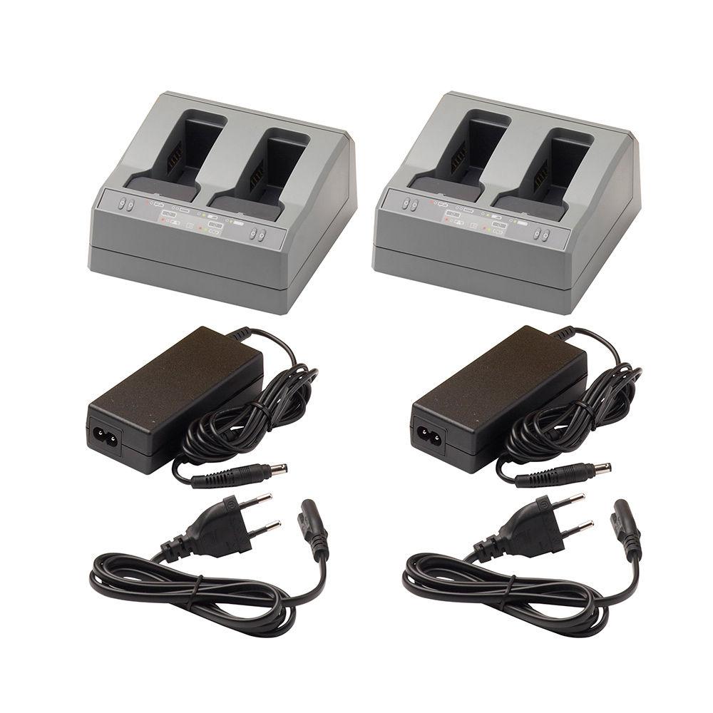 Зарядное устройство Trimble 2xDual Battery Charger  101070-02-04