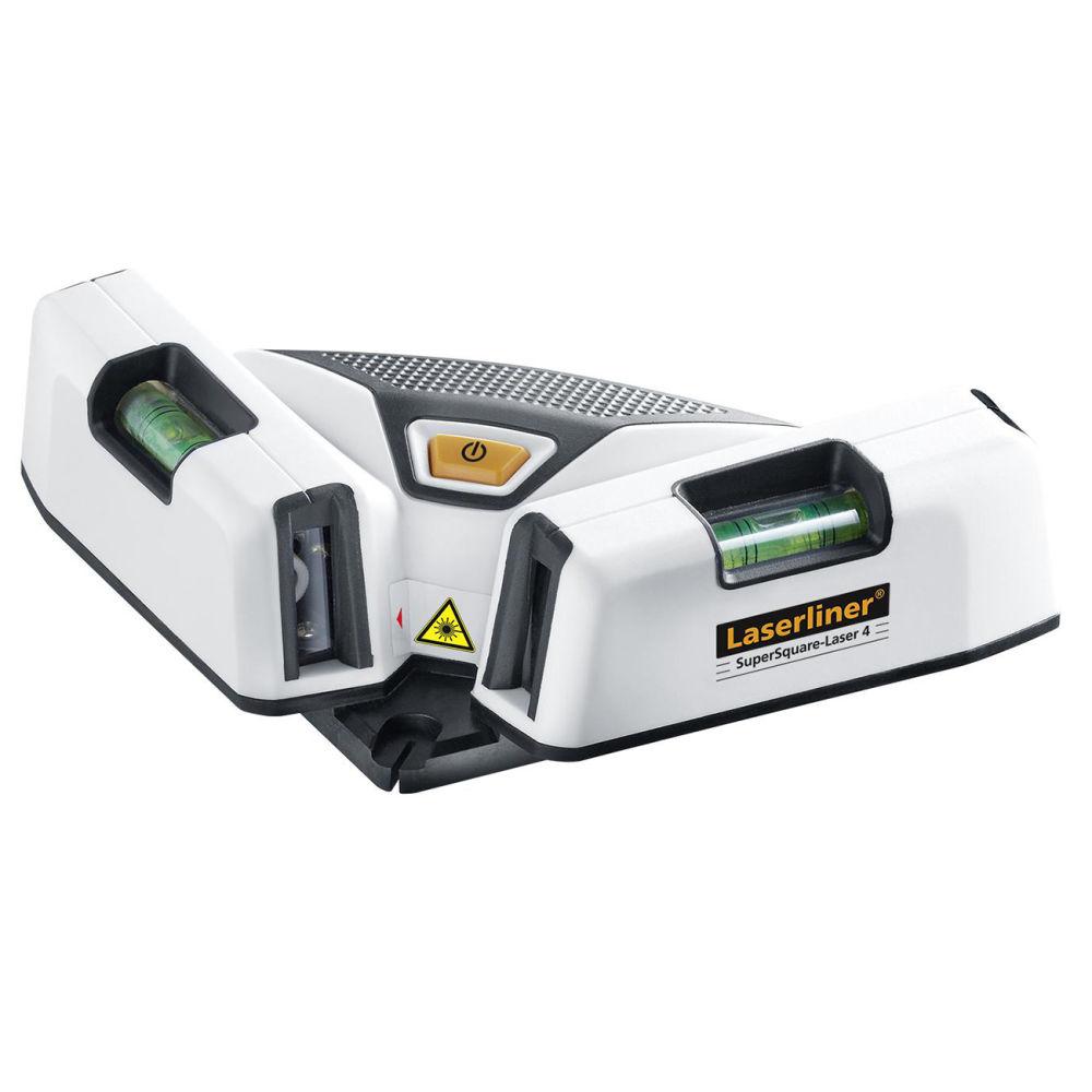 Водяной уровень с лазерным лучом LASERLINER SuperSquare-Laser 4 Plus 081.135A