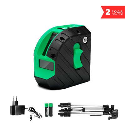 Лазерный уровень ADA ARMO 2D GREEN Professional Edition А00575