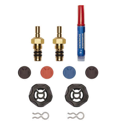 Ремкомплект клапанов для манометрических коллекторов Testo 0554 5570