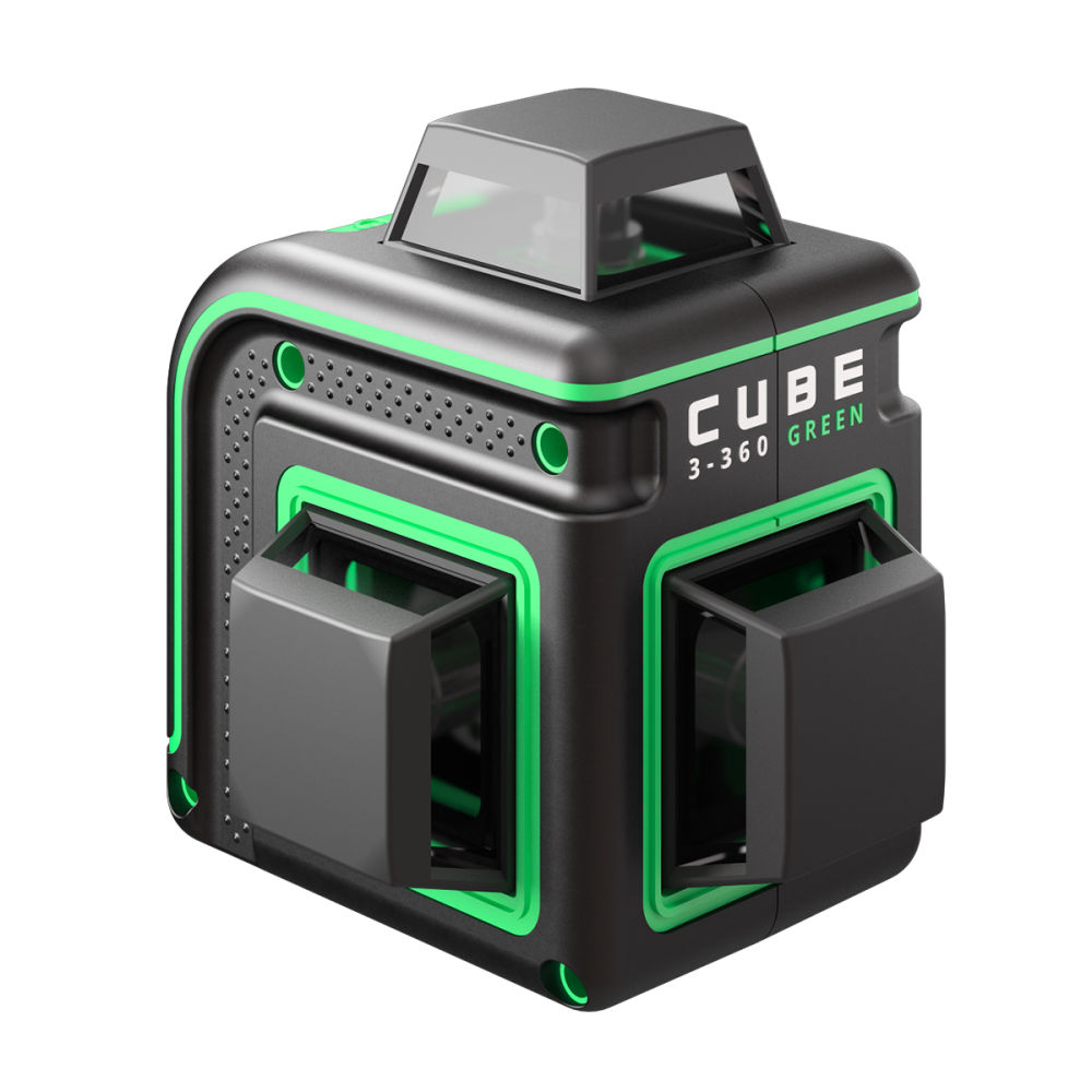 Лазерный уровень  ADA Cube 3-360 Green Professional Edition А00573