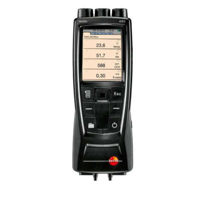 Анемометр Testo 480 с поверкой