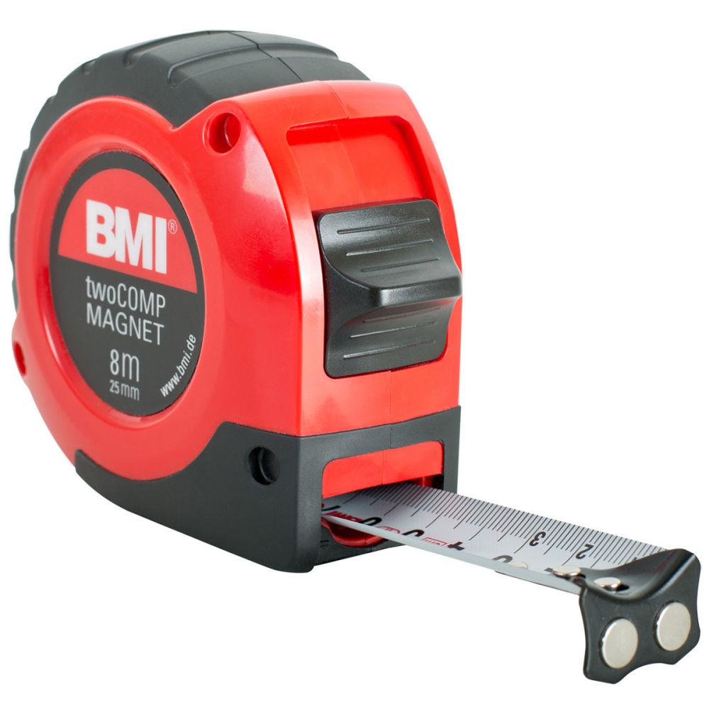 Рулетка BMI twoCOMP 8m Magnetic 472841021M