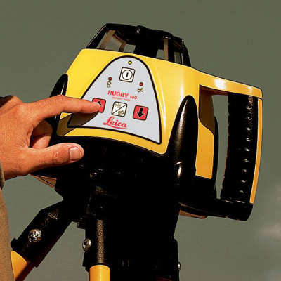 Ротационный нивелир Leica Rugby 100 ROD-EYE Basic